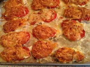 Эскалопы из свинины с овощами и сыром - фото шаг 8
