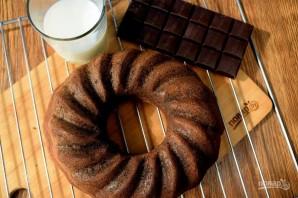 Шоколадный чайный пирог - фото шаг 8
