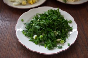 Салат с курицей и огурцом - фото шаг 4