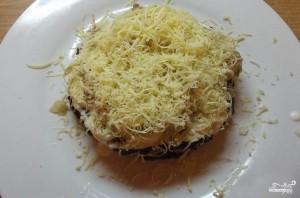 Печеночный торт с сыром - фото шаг 4