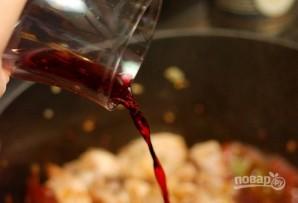 Макароны со свининой на сковороде - фото шаг 5