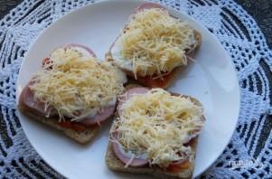 Бутерброды в микроволновке - фото шаг 3
