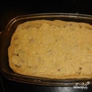 Пирог без дрожжей - фото шаг 4