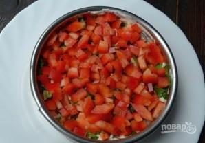 Салат с грибами слоеный - фото шаг 6