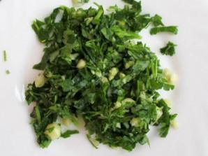 Кефаль в духовке с овощами - фото шаг 2