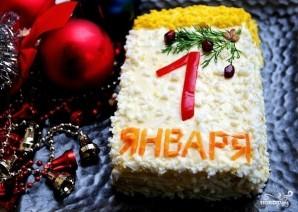 "Салат ""Первое января"" - фото шаг 6"