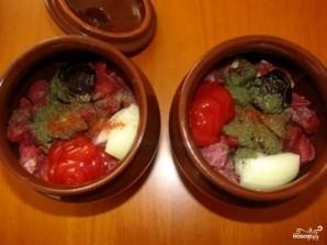 Суп гороховый в горшочке - фото шаг 4