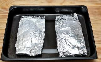 Минтай в духовке - фото шаг 8