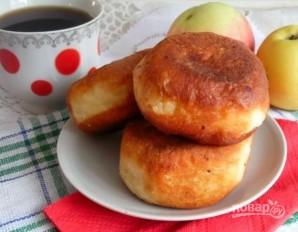 Пончики с яблочной начинкой - фото шаг 8