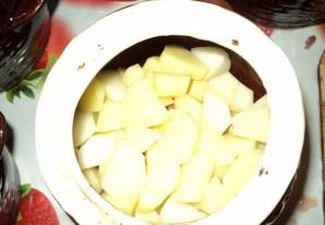 Баранина в горшочках с картофелем - фото шаг 2