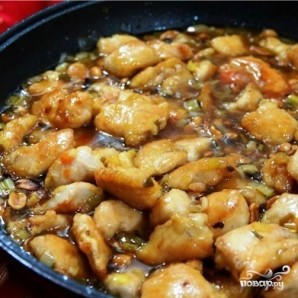 Куриное филе с арахисом - фото шаг 13