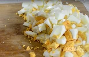 Салат из копченой курицы и ананаса - фото шаг 6