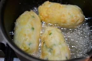 Картофельные палочки с сыром и беконом - фото шаг 7