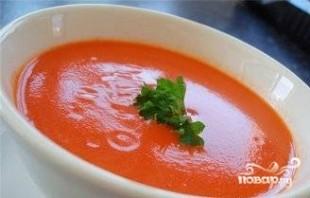 Итальянский суп из помидоров - фото шаг 9