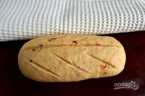 Хлеб с перцем чили - фото шаг 7