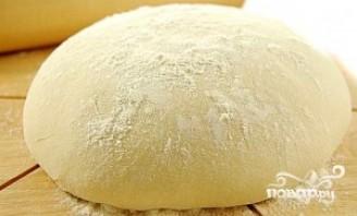 Пирог с капустой и грибами - фото шаг 5