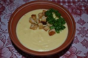 Суп с гренками  - фото шаг 4