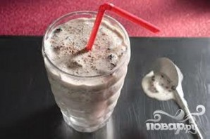 Коктейль Сюрприз с шоколадной крошкой  - фото шаг 5