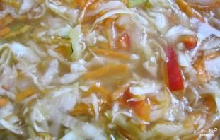 Вкусная маринованная капуста хрустящая - фото шаг 3