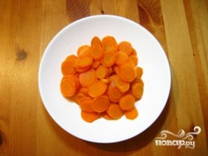 Морковь в пароварке - фото шаг 3
