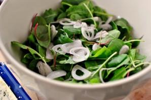 Салат с сыром и виноградом - фото шаг 2