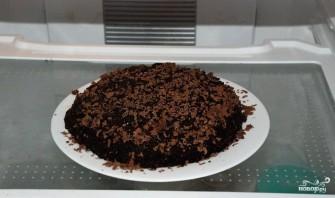 Шоколадный торт на скорую руку - фото шаг 17