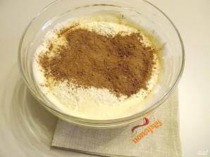 Бисквитное шоколадное тесто - фото шаг 7