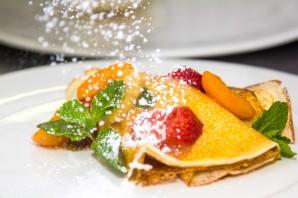 Блинчики с фруктами - фото шаг 9