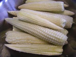 Маринованная молодая кукуруза на зиму - фото шаг 2