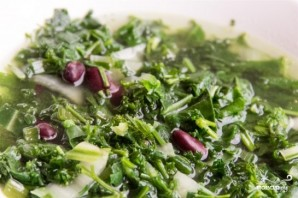 Суп с зеленью - фото шаг 4