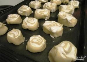 Творожное печенье с безе - фото шаг 12