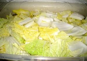 Маринованная китайская капуста - фото шаг 2