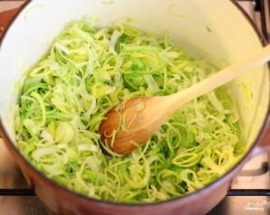 Суп из лука-порея - фото шаг 2
