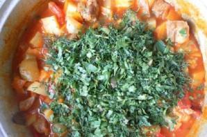 Рагу с мясом и картошкой - фото шаг 4