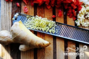 Индейка и салат-латук - фото шаг 2