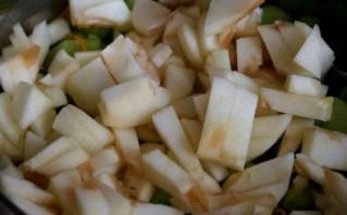 Варенье из ревеня с яблоками - фото шаг 5