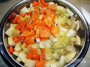 Мясо с картошкой в рукаве - фото шаг 6