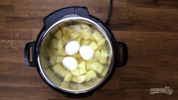 Салат из картофеля - фото шаг 1
