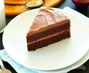 Вегетарианский шоколадный торт - фото шаг 3