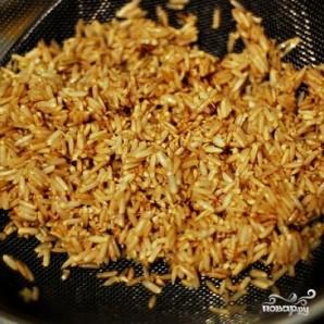 Бурый рис в мультиварке - фото шаг 1