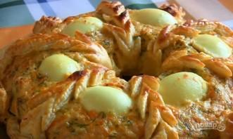 Закусочный пирог из курицы - фото шаг 8