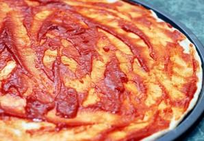 Пицца из морского коктейля - фото шаг 2