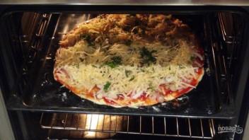 Пицца по-домашнему в духовке - фото шаг 4