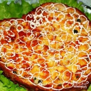 Куриный пирог с гавайской смесью - фото шаг 9