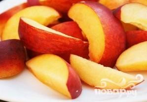Персиковый витаминный напиток - фото шаг 1