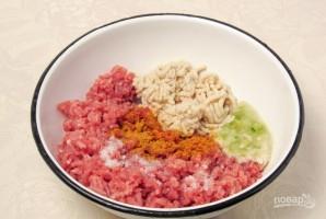 Зразы мясные в духовке - фото шаг 1