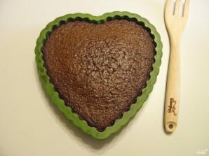 Торт в виде сердца - фото шаг 7