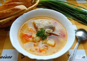 Суп из свиных ребрышек - фото шаг 10