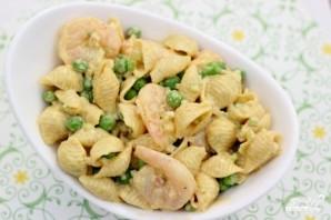 Салат с креветками и макаронами - фото шаг 4