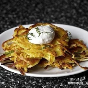 Оладьи из картофеля и пастернака - фото шаг 6